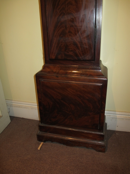 8 Day Regulator in Mahogany Case by Dwerrihouse & Ogston, London