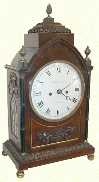 8 Day Striking Bracket Clock By Septimus Miles, London
