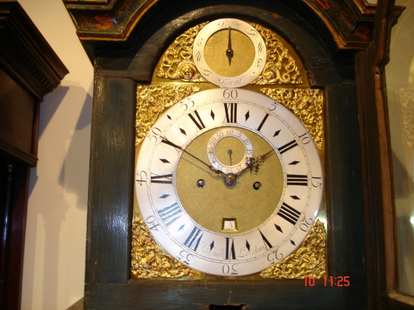 rare month duration longcase