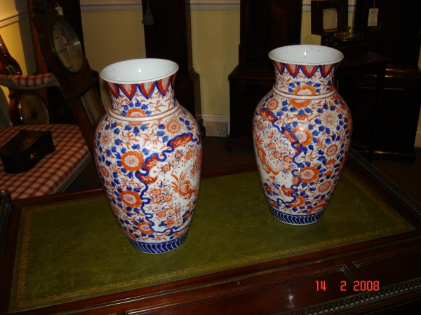 large victorian vases