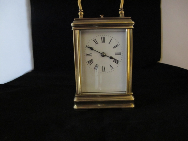 Very small carriage clock