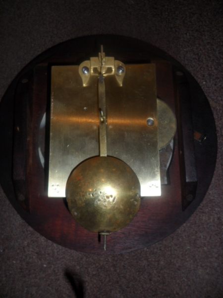 Very nice original 8 ins dial clock english c 1870