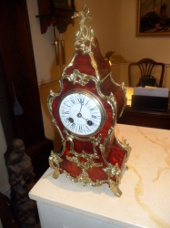tortishell french clock