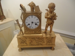 Quality early French clock SOLD
