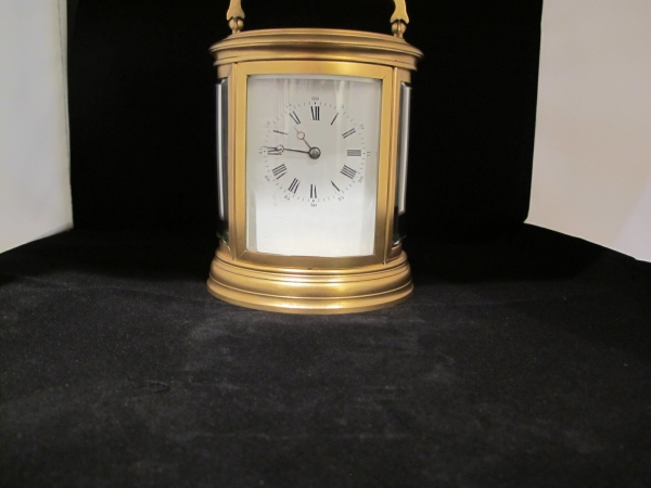 Fine Oval carriage clock