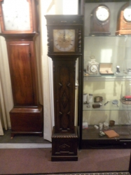 Miniature grandfather Clock rare