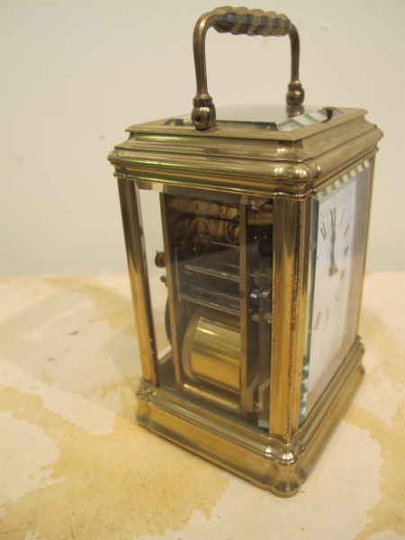 Grande Sonnerie Carriage Clock sold