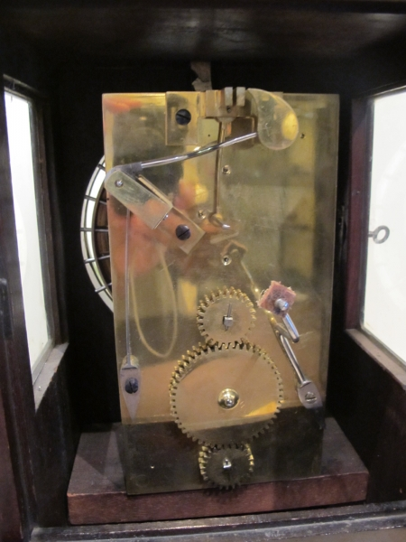 Dent table Clock