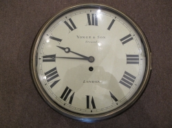 very rare wooden dial clock