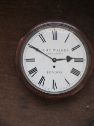 DIAL CLOCK BY FAMOUS MAKERS JAMES WALKER